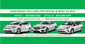 BRAND NEW TOYOTA PRIUS ACTIVE 2017 AND USED TOYOTA PRIUS T3 2015 FOR RENT TO BUY UBER READY PCO CARS