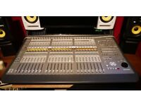 AVID Digidesign C 24 Pro Tools Mixing Desk Control Surface with Power Cable