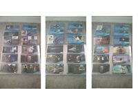 Collection of 172 Topps Widevision Trading Cards Star Wars & Independence Day