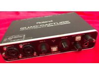 Roland Quad-Capture UA-55 USB Audio Interface for sale  Stoke-on-Trent, Staffordshire