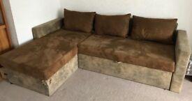 Sofa bez and armchair