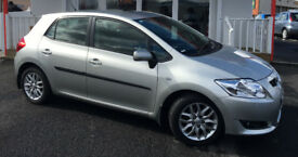 Toyota Auris 1.4 D 5dr very LOW Mileage, PaddleShifters and Steptronic transmission