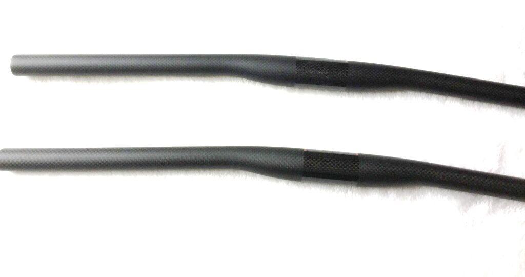 31.8*720mm 3K Carbon Fiber Handlebar MTB Bike Cycling Bicycle Riser Bar Black GA