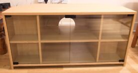 TV Cabinet with glass frontage