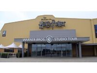 Warner Brother Studios Harry Potter 2 X Adult and 2 X Children for the 30th August
