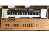 M-Audio Keystation II, Portable 88-Key USB/MIDI Keyboard Controller for Mac and PC