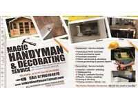 Handyman,Painting ,Wallpapering,Tiling ,Joinery