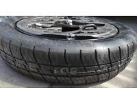 NEW T125/70/16 Space Saver Wheel Tyre Volkswagen Skoda Seat Audi etc