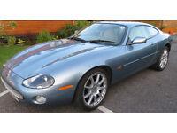 Jaguar XK8 , 2003, 75,000 Miles in Beautiful Ice Blue £9995