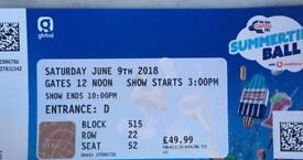 Capital Summer Ball - 6 tickets, £50 eaxh
