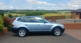 **DIESEL** BMW X3 2.0D SE (MOT APRIL 2019) SERVICE HISTORY (RECENTLY SERVICED) JEEP 4X4 FOUR WHEEL