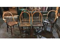 Set Of Six Ercol Chairs