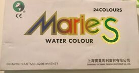 Marie's Watercolor Paint Set, Extra Fine Highly Pigmented Paint Set - 12 ml Tubes