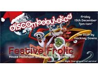 DISCOmbobulated Festive Frolic at the Star by Hackney Downs