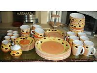47 PIECE TEA & DINNER SERVICE BY 'TRADE WINDS' TABLEWARE NEVER BEEN USED