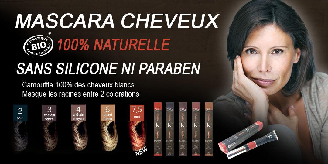 100% Bio Haar Mascara Strähnenfarbe Haarmascara Haartönung Haarfarbe Ansatzfarbe