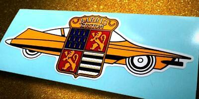 BARRIS KUSTOM • Vintage Style Full Car Logo Sticker • Decal