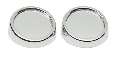 2 x Car Wide View Self Adhesive Wing Mirror Convex Round Blind Spot Mirrors #520