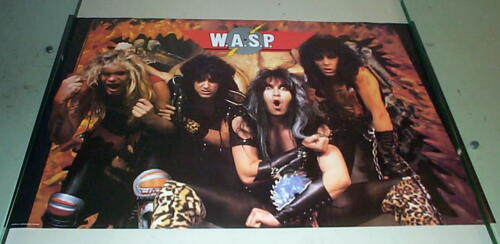 WASP W.A.S.P. Vintage Group  POSTER