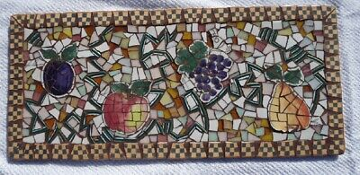 Mosaic Piece Made Wall Hanging/Direct From Artist/Inside or Out