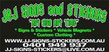SIGNS SIGNWRITING CUSTOM T SHIRTS Blind Bight Casey Area Preview
