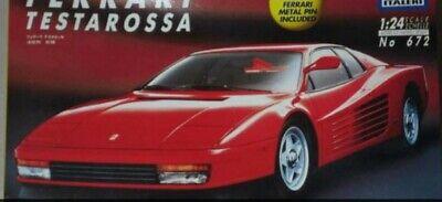 1/24Italeri - Ferrari Testarossa - Plastic Model Kit