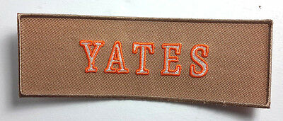 Ghostbusters Yates Namensschild Bestickt 12.7cm Patch - USA Mailed (GBPA-13)