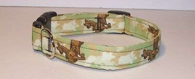 Wet Nose Designs Scooby Doo Camo Dog Collar Light Green & Brown Camouflage](Scooby Doo Collar)