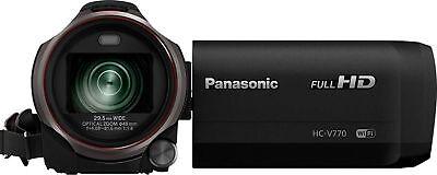 Open-Box Excellent: Panasonic - Panasonic HC-V770 HD Flash Memory Camcorder -...