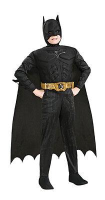 Batman Deluxe Muskel Kostüm für Kinder Batmankostüm