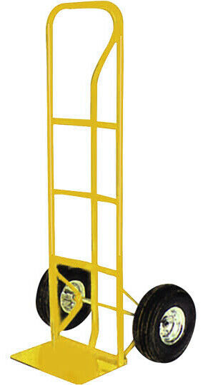 Hand Trolley Heavy Duty 600lbs Sack Truck Industrial Pneumatic Tyres Robust