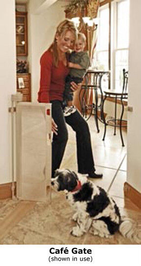 Wide Retractable Safety Gate Baby Dog Child Pet New