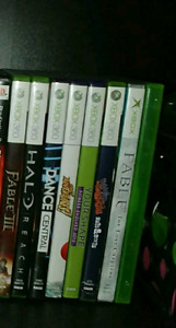 Xbox 360 +kinect + 8 jeux + 4 manettes