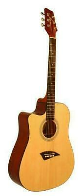 KONA Left Handed Acoustic Dreadnought Cutaway Guitar K1L