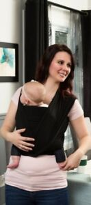 Stretchy wrap baby carrier