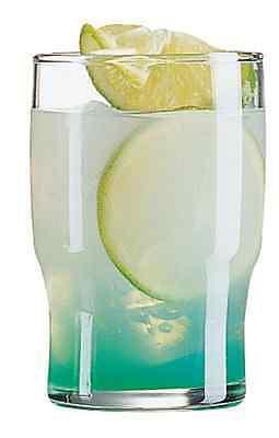 12 x 8oz Campus Tumblers Glass Hi ball Glass 22cl Restaurant Bar wear