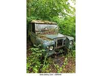 Wanted old landrover series/ discovery