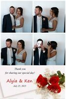 Professional photo booth systems at reasonable rates!