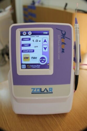 New Zolar Photon Dental Diode Soft Tissue Laser System w/ Disposable Tips 3 Watt