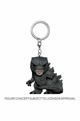 Godzilla Vs Kong Llaveros Pocket POP! Vinyl Godzilla 4 cm