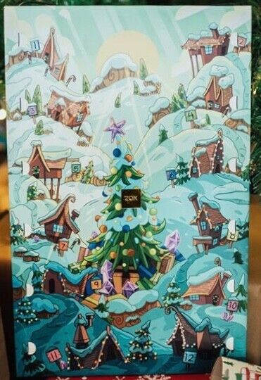 ZOX Straps Advent Calendar 12 Days of Christmas New Unopened Limited 1000
