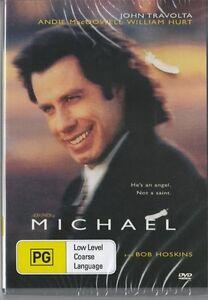 MICHAEL - JOHN TRAVOLTA & BOB HOSKINS  - NEW & SEALED DVD