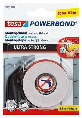 Tesa Montageband  Ultra Strong  1,5 m X 19 mm