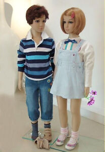 Unisex Plastic Kids Boy Girl Child Children Mannequin Clothes Dress Form PCHM-1