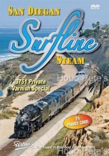 * Pentrex DVD: SAN DIEGAN SURFLINE STEAM, New!
