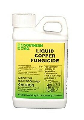 Southern Ag Liquid Copper Fungicide 8Oz