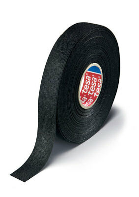 Tesa 51618 Adhesive Pet Fleece Wire Harness Tape 34 X 25m Cloth Friction Fs