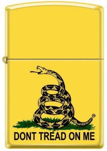 "American Yellow Gadsden Flag ""Dont Tread on Me"" Patriotic Zippo Lighter"