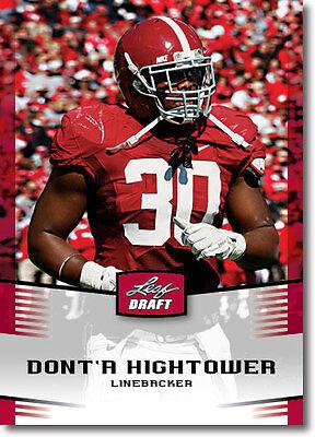 100  Donta Hightower   New England Patriots  2012 Leaf Draft Day Rc Lot
