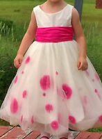 Amazing!! Beautiful Alfred Angelo Flower Girl Dress 4T